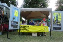 Unser Info-Stand beim Afrikafest